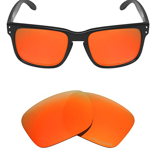 Mryok+ Polarized Replacement Lenses for Oakley Holbrook - Fire - Polarized Lenses Holbrook