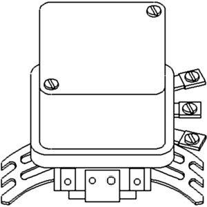 A-1118786 Voltage Regulator 6 Volt Part No