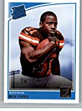 #8: 2018 Donruss Football #308 Nick Chubb RC Rookie Card Cleveland Browns Rated Rookie Official NFL Trading Card