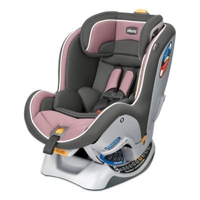 Chicco NextFit Convertible Car Seat in Rose