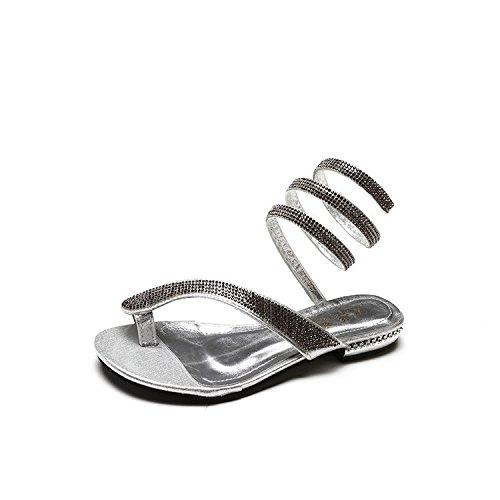 zapatos de de fondo mujer zapatos Thirty de zapatos eight plano mujer de mujer casual Zapatos playa convergencia 7TOwT