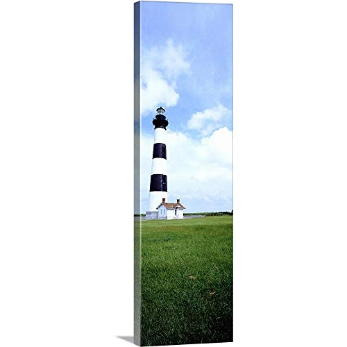 GREATBIGCANVAS Gallery-Wrapped Canvas Entitled Bodie Lighthouse Outer Banks NC by 28