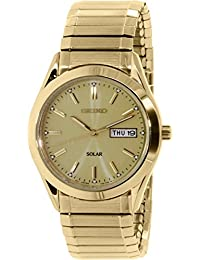 Seiko Men's SNE058 Gold Stainless-Steel Quartz Watch