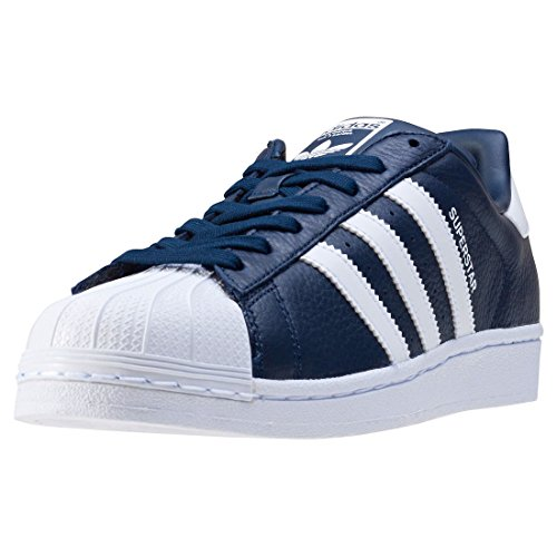 da Basse Superstar blu Uomo Ginnastica adidas Scarpe wqf0Ex7Ff4