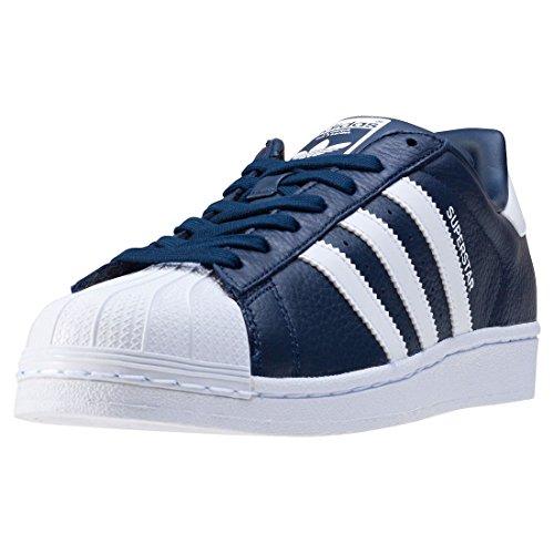 adidas Originals Superstar Sneaker Blue BB2239, Size:46
