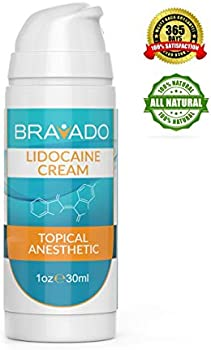 Bravado Labs 5% Lidocaine Topical Pain Treatment Premium Numbing Cream