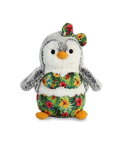 Aurora World Pompom Penguin Plush Toy Animal, Pompom Hula from Aurora