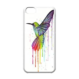 Hummer Bird Pattern Hard Shell Cell Phone Case for Iphone Case 5C TSL319882