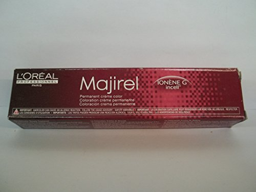 l oreal professionnel majirel ionene g incell permanent creme color 6 6n chemical l oreal professionnel majirel ionene g incell permanent creme import it all