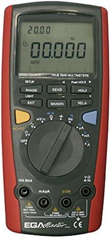 Ega Master 200μA-10A AC / 200μA-10A DC / 200mV-1000V DC / 2V-1000V AC MULTIMETER EGATRONIK