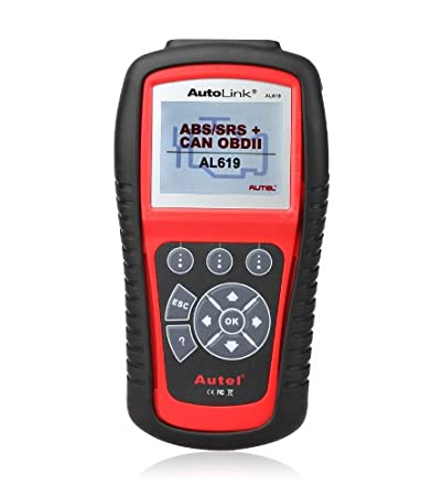 AutelAutolink AL619 ABS/SRS CAN OBD2 Code Scanner
