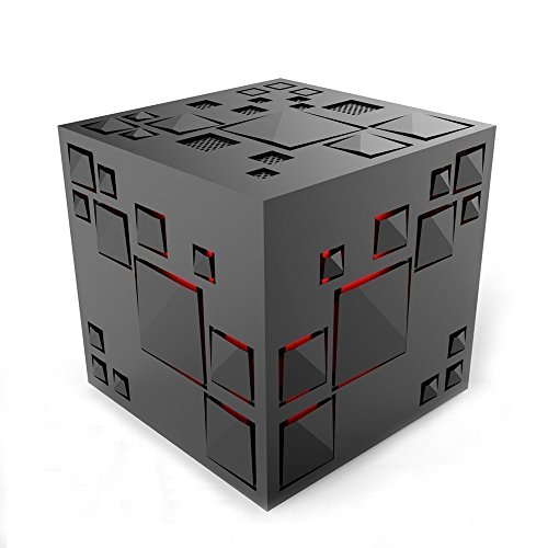 Airsspu Bluetooth Speakers, Portable Cube Wireless Bluetooth Speaker Powerful Sound Compatible with All Bluetooth Devices