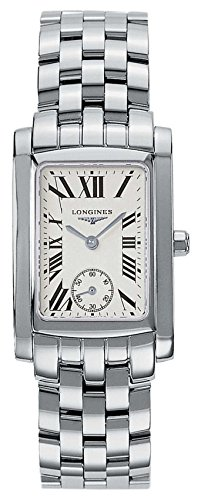 Longines Dolcevita Women s Quartz Watch with Silver Dial Analogue Display  and Silver Stainless Steel Bracelet L55024716  Amazon.co.uk  Watches 0d3933713b