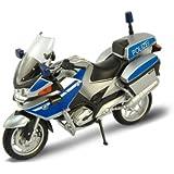 BMW R 1200 RT Polizei Welly Motorrad Modell 1:18