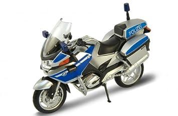 Bmw R 1200 Rt Polizei Welly Motorrad Modell 1 18