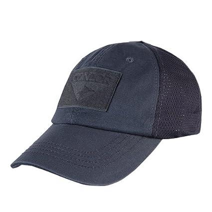 Amazon.com  Condor Outdoor Mesh Tactical Cap Color- Navy Blue ... 8774b316ad5