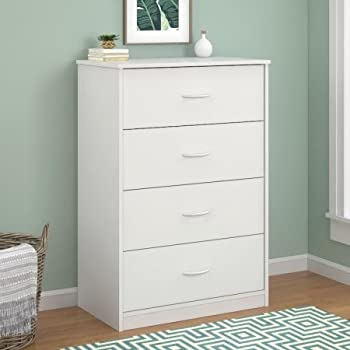 mainstays 4 drawer dresser white kitchen dining. Black Bedroom Furniture Sets. Home Design Ideas