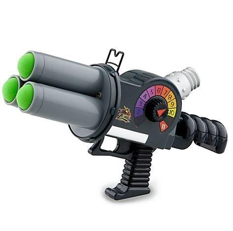 Disney Park Exclusive Toy Story Emperor Zurg's Glow In The Dark Blaster