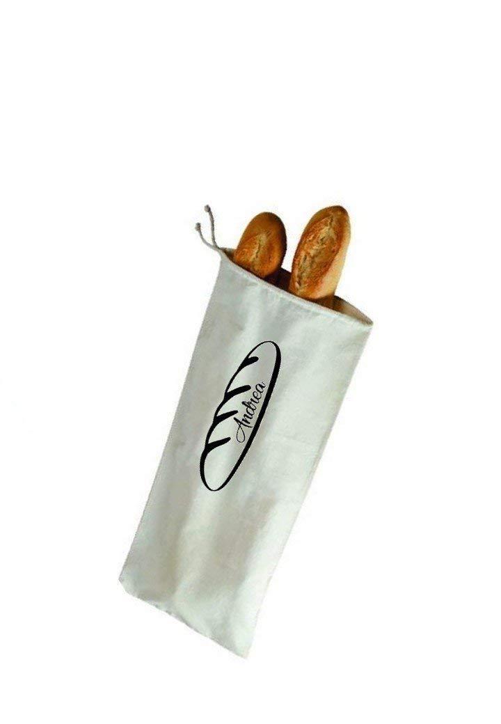 Bolsa de pan personalizada. Algodón.: Amazon.es: Handmade