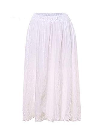 Faldas Damas Casual Moda De Verano Falda De Verano Faldas Ropa de ...