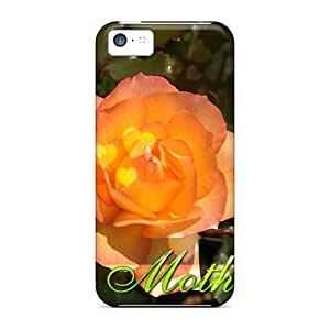 JMYtPMI5630KvIDd Tpu Case Skin Protector For Iphone 5c Happy Mothers Day With Nice Appearance