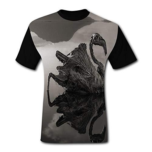 Skeleton Swan Pumpkin Halloween Costume T-Shirt for Men 3XL ()