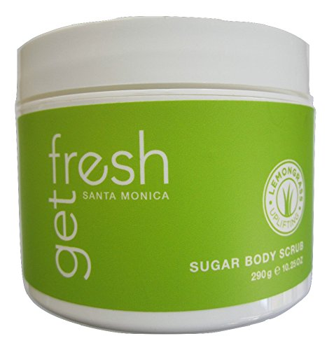 (Get Fresh Santa Monica Uplifting Lemongrass Sugar Body Scrub 10.25oz)