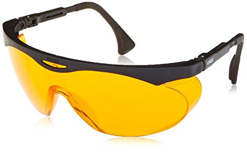 Uvex Skyper Blue Light Blocking Computer Glasses with SCT-Orange Lens - Safety Sunglasses Z87
