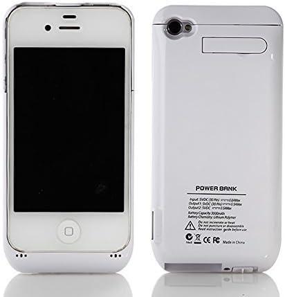 Cover Custodia con batteria integrata Power Bank Apple iPhone 4 4s