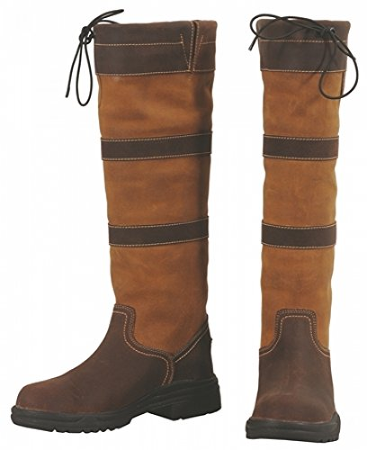Amarillo Tuffrider fawn impermeable choc Lexington Boot Tall IH0qIwO
