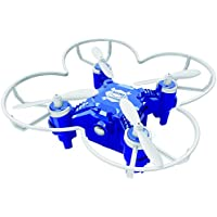 Owill FQ777 124+ 4CH 6-Axis Gyro RTF 3D Eversion RC Pocket Quadcopter Drone Night Flight Led Toy (Blue)