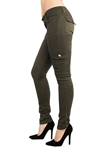 Jeans Ladies Cargo Pants Stretch