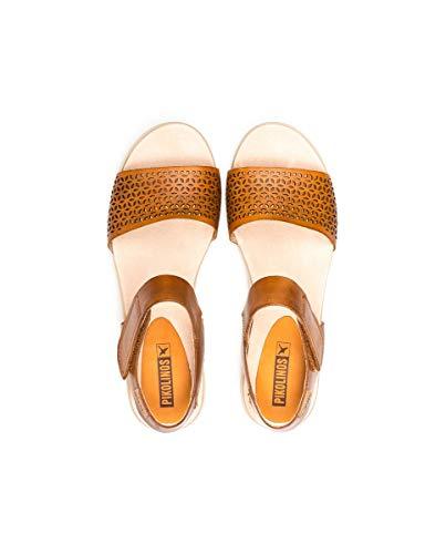 Mykonos Sandal Wedged Pikolinos W1g Tan 1733 7g6IqPwSx