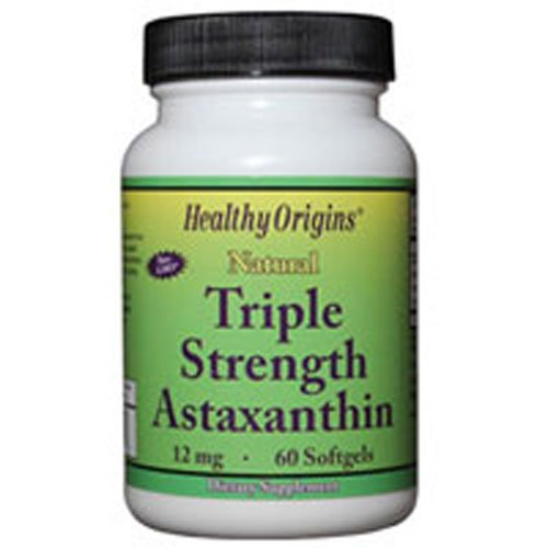 Healthy Origins Astaxanthin 12Mg Trpl Str 60 Sgel by Healthy Origins (Image #1)