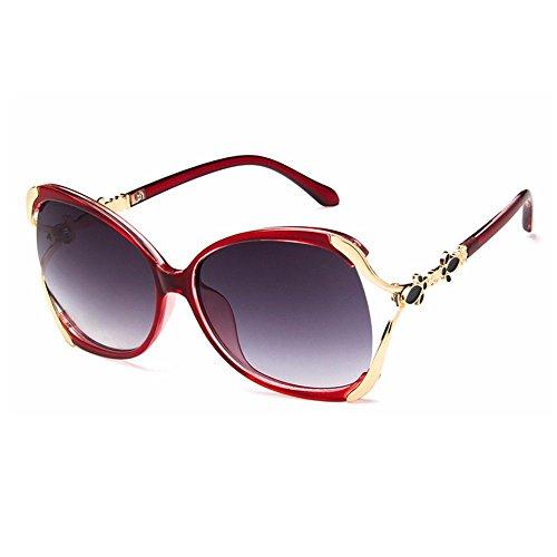 Creux Uv 1pcs Lady 9838 Demarkt De Protection Trend Mode rouge Soleil Lunettes FB8xCnq