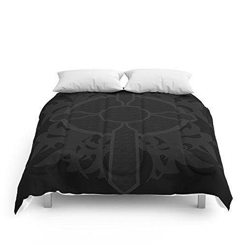 "Society6 Gothic Cross Comforters King: 104"" x 88"""