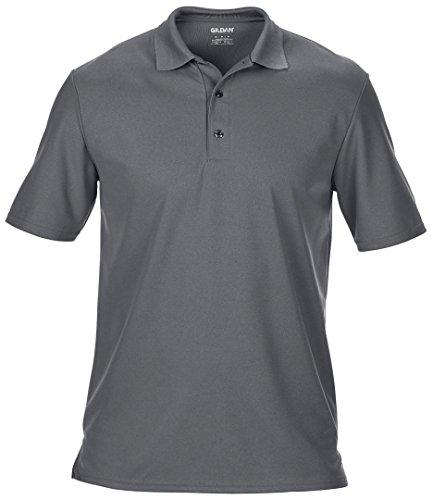 Gildan Performance doble piqué camiseta deportiva gris oscuro