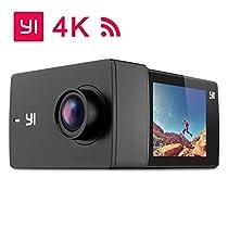 YI Lite Action Camera Impermeabile Videocamera Sportiva Subacquea 4K Fotocamera WiFi Bluetooth Sony Sensore con Custodia Impermeabile