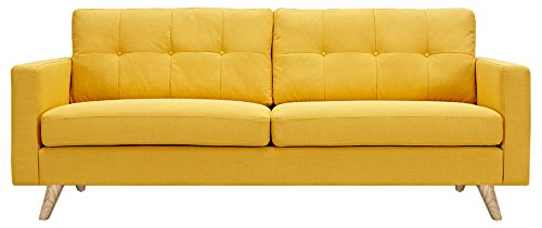 NyeKoncept 223349-A Uma Sofa, Papaya Yellow from NyeKoncept