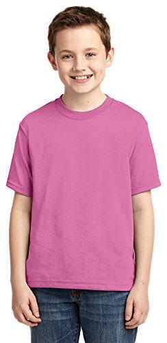 Jerzees boys Heavyweight Blend T-Shirt(29B)-AZALEA-XL (T-shirt Azalea Youth Heavyweight)