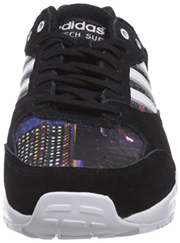 Noir ftwr Adidas Femme top Black Super Low Tech White core core Originals Black Sneaker rrYv0