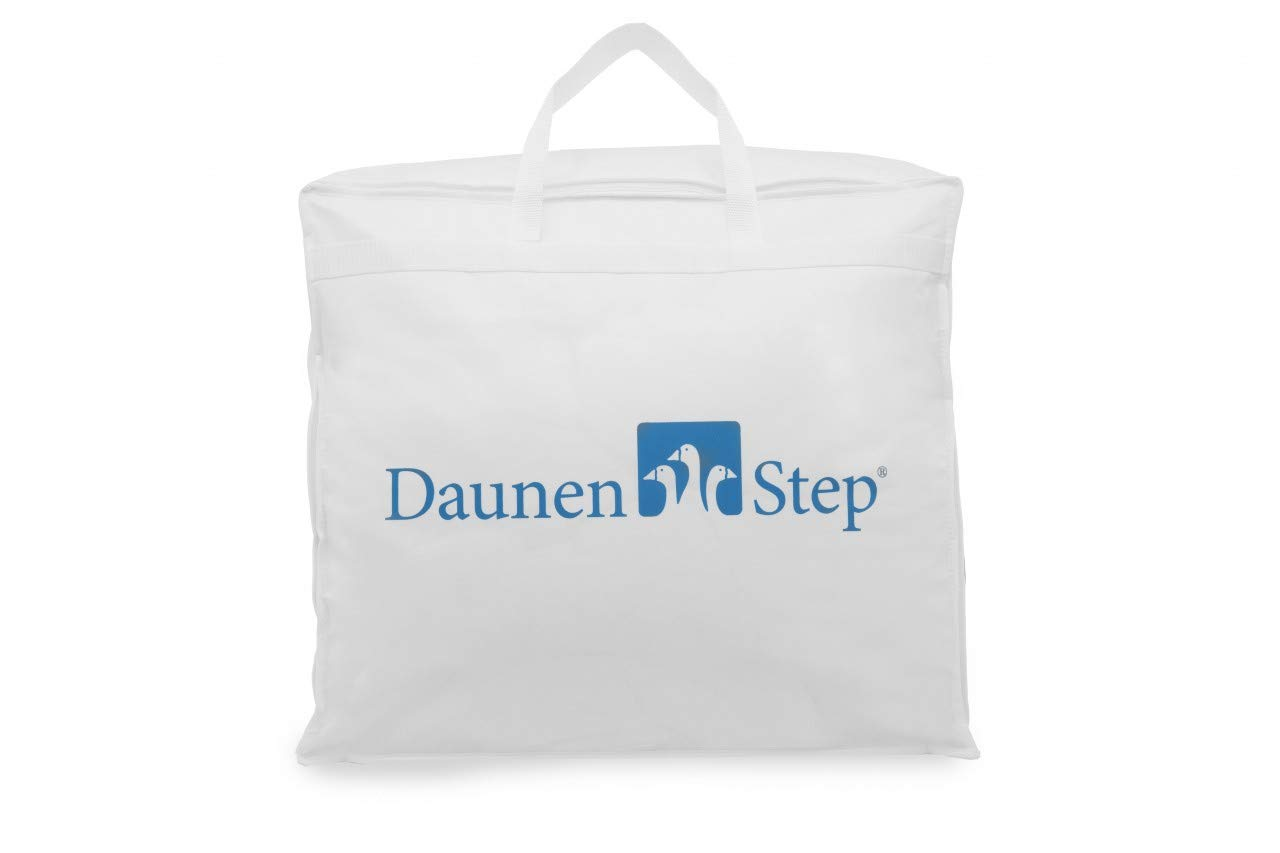 Daunen Step Topper Coprimaterasso in Cotone 160x200 cm Matrimoniale Cottonstep