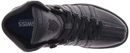K-swiss Mujeres Classic Vn Mid Fashion Sneaker Negro / Negro