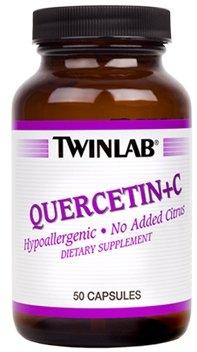 Twinlab Quercetin Plus C -- 50 Capsules