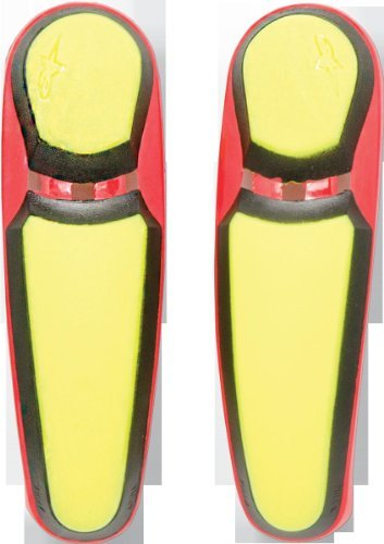 Alpinestars S-MX 5 Boots Toe Sliders - Yellow/Red