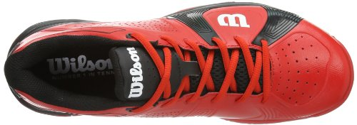 Wilson Homme Rush Baskets red black black Red De Sport red Tennis Multicolore red Mehrfarbig 8qdwr81