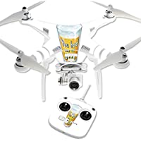 Skin For DJI Phantom 3 Standard – Beer Lover | MightySkins Protective, Durable, and Unique Vinyl Decal wrap cover | Easy To Apply, Remove, and Change Styles | Made in the USA