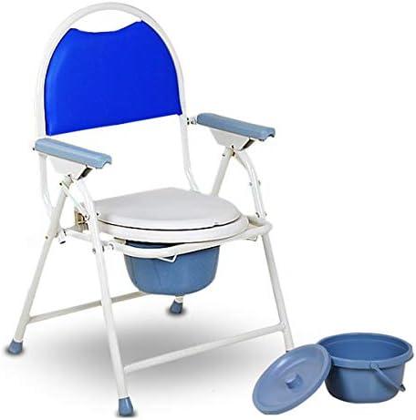 介護用ポータブルトイレ椅子 ポータブルトイレ 简易 便座 チェア 折りたたみ 高齢者のトイレ椅子 携帯 妊娠中の女性老人トイレチェア頑丈な
