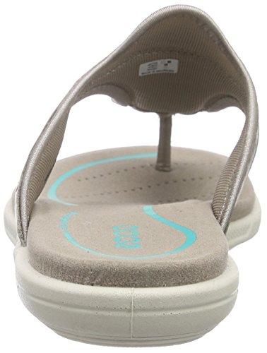 EccoECCO BLUMA SANDAL - Sandalias de dedo Mujer Beige (MOON ROCK1459)