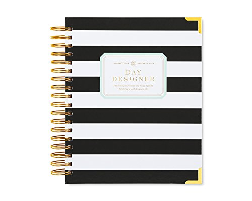 Day Designer Daily Planner 2018 | Original Flagship | Best Day Planner | Goal Setting | Time Management | Productivity Planner